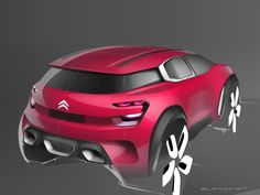 2015 | Citroen Aircross Concept | Design Development | Design by Grégory Blanchet | Source