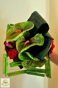 """""""Nowoczesna florystyka ślubna"""" - dekoracje ślubne, bukiety ślubne, bukiety, kompozycje kwiatowe, kursy florystyczne, florysta - Gardenia Kraków"""