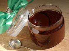 Amaretto Chocolate Sauce -  The Amaretto Chocolate Sauce makes a great hostess gift during holiday party season, and can literally be whipped up in minutes.