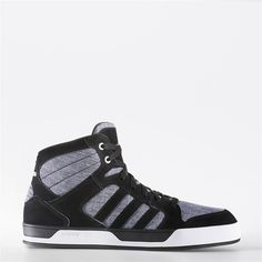 huge discount 03999 74f79 Adidas Raleigh Mid Shoes (Core Black   Black   Running White) Adidas Men,
