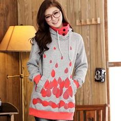 Printed Hooded Pullover from #YesStyle <3 JK2 YesStyle.com