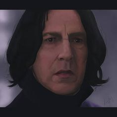 I made this portrait of Alan Rickman as sort of a tribute for this great man and actor. Professor Severus Snape, Harry Potter Severus Snape, Alan Rickman Severus Snape, Snape Always, Half Blood, Deviantart, Actors, Portrait, Parka