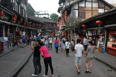 Chongqing Private Day Tour of Ciqikou Old Town and Ronghui Hot Springs Including Lunch Take this private guided day tour of Chongqing to visit Ciqikou Old Town and enjoy a traditional lunch (hot pot is an option) before a relaxing half day at Ronghui Hot Springs.Your guide will meet you at 8:30am in the lobby of your Yangtze River cruise boat terminal prior to disembarkation or the lobby of your downtown Chongqing hotel. Commence your tour in aair-conditioned private car. Sta...