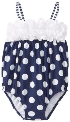 Kate Mack Baby-Girls Monte Carlo Infant Swim Bubble, Navy Blue--Oh my gosh so cute! My Little Girl, Little Princess, Baby Girl Fashion, Kids Fashion, Cute Babies, Baby Kids, Everything Baby, Cute Outfits For Kids, Kind Mode