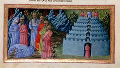 Detail of a miniature of Virgil introducing Dante to the poets of antiquity, Homer, Horace, Ovid and Lucan, in illustration of Canto IV. Dante and Virgil - from The Divine Comedy Medieval Manuscript, Medieval Art, Illuminated Manuscript, Dante Alighieri, Medieval Paintings, Dantes Inferno, Occult Symbols, Library Catalog, Black And White Illustration