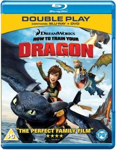 How to Train Your Dragon/Legend of the Boneknapper Dragon Blu-ray +DVD, 2010 Great Kids Movies, Really Good Movies, Family Movies, Black Widow, Dragons, Jay Baruchel, Hiccup And Toothless, Httyd, Craig Ferguson
