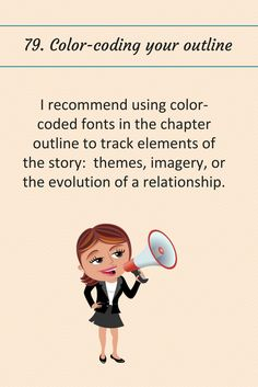 79: Color-coding your outline.