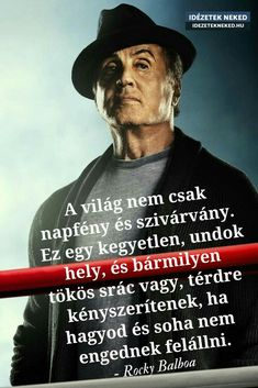 Daily Wisdom, Gym Quote, Rocky Balboa, Tao, Favorite Quotes, Qoutes, My Life, Health Fitness, Thoughts
