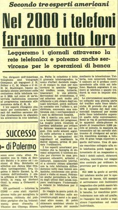 La profezia del 1962 sui telefoni del 2000