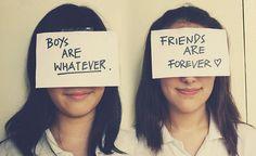 "Friendship... @Karun (: ""eff u hormones LOL"""