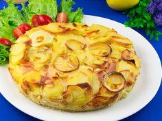 Plăcintă din cartofi cu șuncă și cașcaval– un deliciu de zile mari!