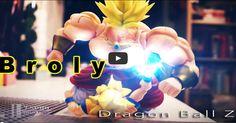 Goku VS Broly em stop motion épico