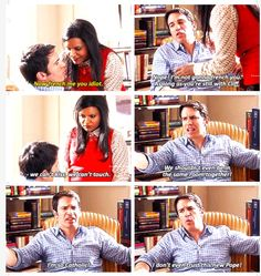 """Mindy & Danny - """"French Me, You Idiot"""", The Mindy Project"""