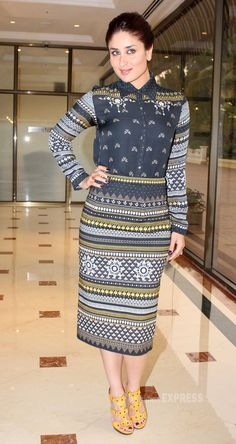 Kareena Kapoor Khan at nutritionist Rujuta Diwekar's DVD ' Don't Lose Out, Work Out' launch. #Style #Bollywood #Fashion #Beauty