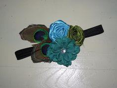 Vintage/Peacock Headband   https://www.facebook.com/photo.php?fbid=335795756462382&set=a.185905574784735.36128.166434056731887&type=3&theater