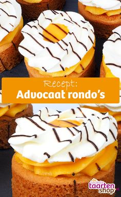 Advocaat rondo's   Recept van Deleukstetaartenshop.nl