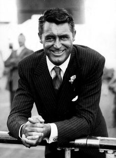 Grew up watching old movies with my sis, Linda.  This became my male ideal.  I wanted to marry someone like Cary Grant.  I did just fine.  :)