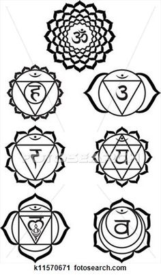 Swadhisthana Chakra Symbol Seven chakras Chakra Tattoo, Kundalini Tattoo, Chakra Art, Chakra Healing, Chakra Painting, Heart Chakra, 7 Chakras, Yoga Tattoos, Body Art Tattoos