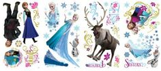 Perfect for the Frozen Movie Lover!! Vinal Wall Decals!!