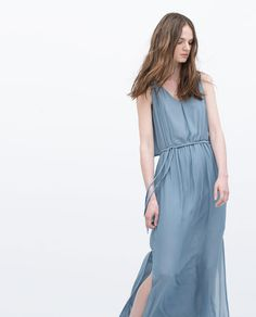 Image 2 of LONG LAYER DRESS from Zara