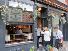 The Penrose #NYC - a handsome, rambling restaurant and bar on the Upper East Side