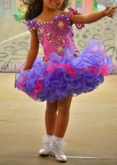 National Level High Glitz Cupcake Pageant Dress in Clothing, Shoes & Accessories, Kids' Clothing, Shoes & Accs, Girls' Clothing (Sizes 4 & Up) Glitz Pageant Dresses, Pagent Dresses, Little Girl Pageant Dresses, Pageant Wear, Little Girl Outfits, Pagent Hair, Beauty Pageant, Girls Dresses, Girl Cupcakes