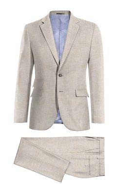 Beige linen Suit http://www.tailor4less.com/en-us/men/suits/4005-beige-linen-suit