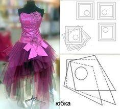 выкройка юбки из фатина для барби: 14 тыс изображений найдено в Яндекс.Картинках