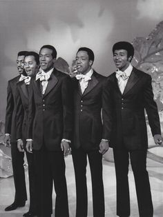 The Temptations. Saw these guys perform on Steel Pier, Atlantic City, c. 1976.  They were SMOOTH.