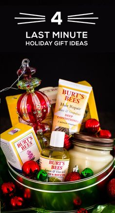 Tackle last minute holiday shopping for anyone on your list—like the college student, makeup and spa lover, foodie, and outdoorsmen—this year with these 4 Fun and Festive Holiday Gift Guides. With help from Burt's Bees collection of natural products, you won't believe how easy it can be to put together a thoughtful present this holiday season. Simply make sure to head over to Target to find all the presents and gift wrapping essentials you need to show your loved ones you care.
