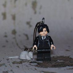Willard LEGO key chain by boxhounds on Etsy, $10.00