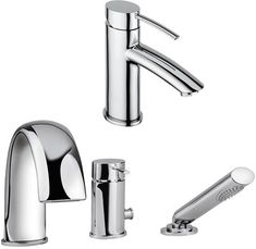 3 Hole bath shower mixer and basin mixer tap set in chrome with shower kit and pop up basin waste. Now in stock at Bath Shower Mixer, Shower Kits, Bath Taps, Basin Mixer Taps, Cool Kitchens, Chrome, Pop, Popular, Bathroom Basin Mixer Taps