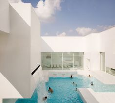 Les Bains des Docks Aquatic Center, Le Havre, France | Jean Nouvel