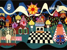 Disney Small World Mary Blair
