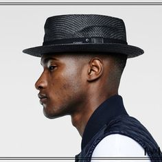 G STAR dawher paperstraw hat. Trilby en paille avec finitions modernes / Straw trilby with modern finish. 1d1fa