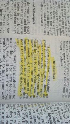 Sirach 11:7