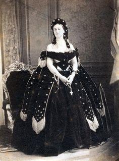 antique-royals:  The Countess of Castiglione  1860s - 1870s