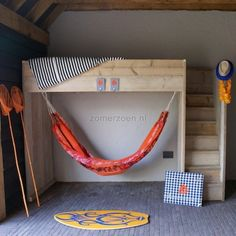 1000+ images about hoogslaper on Pinterest  Hanging beds, Compact and ...