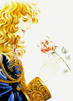 A late 80's version of Oscar Francois de Jarjayes from Rose of Versailles.