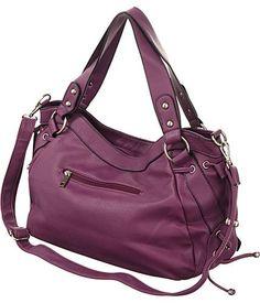 Wine-Purple Large   Utilitarian   Hobo Crossbody-to-Shoulder Bag  Handbags   Amazon.com 4337653417151