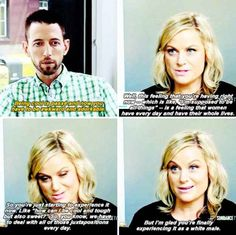When Amy reminded this reporter to check his damn privilege.