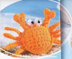 BethSteiner: Caranguejo em crochê