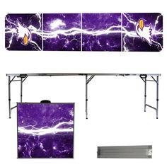 Ashland Eagles Lightning Bolt Portable Folding Table
