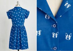 Cute French Bulldog Dress