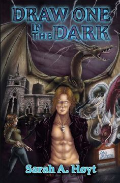 Draw One in the Dark by Sarah A. Hoyt is the first in an urban fantasy series about shapeshifters. Kyrie thinks, or wants to believe, that she is delusional about changing into a panther. Until she meets more shapeshifters.