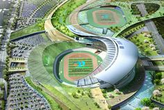 populous to design main stadium for 2014 incheon asian games
