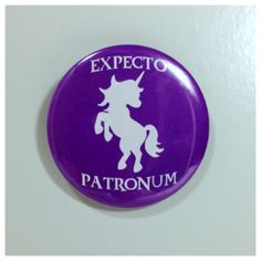 Harry Potter: My Patronus is a Unicorn 3 magnet
