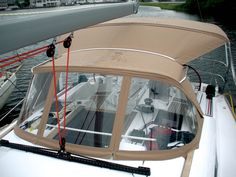Outstanding Achievement Award in full exterior canvas sailboat 27 feet and up category: Dodger and bimini