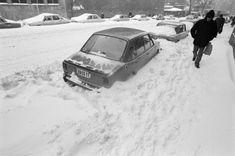 Emlékeztek még az 1986-os igazi nagy télre? | nlc Budapest, Eastern Europe, Historical Photos, Old Photos, Marvel, America, Mountains, Landscape, Park