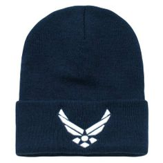 625c3eb7440 US United States Air Force Wings Long Beanie Cap Hat by RapDom US Military  Caps.